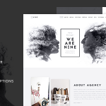 Download Free The Agency v1.6 - Creative One Page Agency Theme