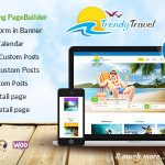 Download Free Trendy Travel v3.6 - Multipurpose Tour Package WP Theme