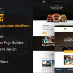 Download Free Trucking v1.2 - Logistics and Transportation Theme