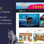 Download Free Vast Buzz v1.1.3 - Viral & Buzz WordPress Theme