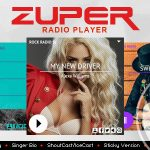 Download Free Zuper v1.4.7 - Shoutcast and Icecast Radio Player With History
