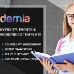 Download Free Academia v2.3 - Education Center WordPress Theme