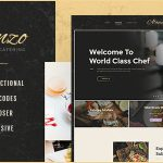 Download Free Alanzo v1.0 - Personal Chef & Catering WordPress Theme