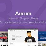 Download Free Aurum v3.4.2 - Minimalist Shopping Theme