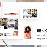 Download Free Benko v1.0.1- Creative Magazine WordPress Theme