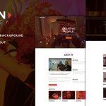 Download Free Benten v1.1 - Responsive One Page Portfolio Theme