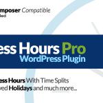 Download Free Business Hours Pro WordPress Plugin v5.5.0
