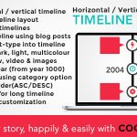 Download Free Cool Timeline Pro v2.8 - WordPress Timeline Plugin