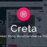 Download Free Creta v3.4 - Flower Shop WooCommerce WordPress Theme
