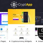 Download Free CryptApp Landing Page v1.3 - Cryptocurrency Theme