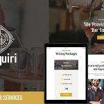 Download Free Daiquiri v1.0 - Bartender Services & Catering Theme