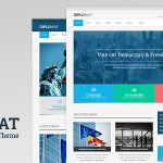 Download Free Diplomat v1.2 - Political Candidate / Party WordPress Theme