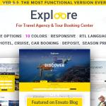 Download Free EXPLOORE v5.5 – Tour Booking Travel WordPress Theme