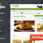 Download Free Food Recipes v3.1.1 - Themeforest WordPress Theme