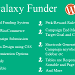 Download Free Galaxy Funder v10.6 - WooCommerce Crowdfunding System