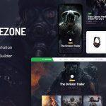Download Free Gamezone v1.0 - Gaming Blog & Store WordPress Theme