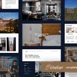Download Free Hoteller v1.1 - Hotel Booking WordPress