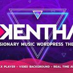 Download Free Kentha v1.5.2 - Visionary Music WordPress Theme