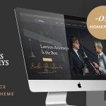 Download Free Lawyer Attorneys v3.0.2 - A Law Office WordPress Theme