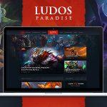 Download Free Ludos Paradise v1.0 - Gaming Blog & Clan WordPress Theme
