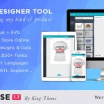 Download Free Lumise Product Designer v1.7.3 - WooCommerce WordPress