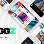 Download Free Maggz v1.2 - A Creative Viral Magazine and Blog Theme