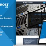 Download Free Multi Hosting v1.7 - WHMCS Hosting WordPress Theme