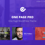 Download Free One Page Pro v1.2.1 - Multi Purpose OnePage Theme