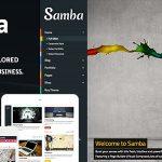 Download Free Samba v7.0 - Colored WordPress Theme