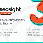 Download Free Seosight v3.3.1 - SEO Digital Marketing Agency Theme with Shop