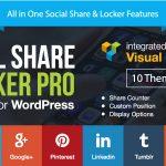 Download Free Social Share & Locker Pro WordPress Plugin v7.5