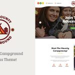Download Free The Mounty v1.1 - Campground & Camping WordPress Theme