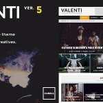 Download Free Valenti v5.5.4 - WordPress HD Review Magazine News Theme