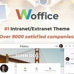Download Free Woffice v2.8.0.1 - Intranet/Extranet WordPress Theme