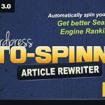 Download Free WordPress Auto Spinner v3.5.0 - Articles Rewriter