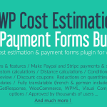 Download Free WP Cost Estimation & Payment Forms Builder v9.655