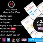 Download Free Blog Designer PRO for WordPress v2.5