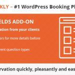 Download Free Bookly Custom Fields (Add-on) v1.6