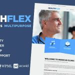Download Free HEALTHFLEX v1.5.8 – Medical Health WordPress Theme