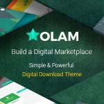 Download Free Olam v4.4.0 - WordPress Easy Digital Downloads Theme