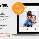 Download Free Welfare NGO v1.1.8 - Nonprofit Organization Charity Theme