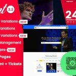 Download Free BigEvent v2.2.7 - Conference Event WordPress Theme