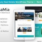 Download Free CasaMia v1.1.1 - Property Rental WordPress Theme