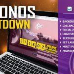Download Free Chronos CountDown v1.0 - Responsive Flip Timer