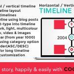 Download Free Cool Timeline Pro v2.8.3 - WordPress Timeline Plugin