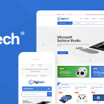 Download Free Digitech v1.0.6 - Technology Theme for WooCommerce