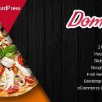 Download Free Domnoo v1.8 - Pizza & Restaurant WordPress Theme