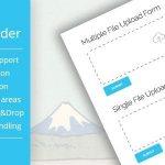 Download Free Drop Uploader for CF7 v2.1