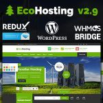 Download Free EcoHosting v2.9 - Responsive Hosting and WHMCS Theme