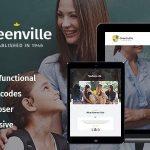 Download Free Greenville v1.3.0 - A Private School WordPress Theme
